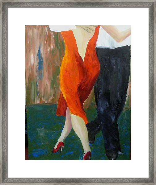 Another Tango Twirl Framed Print