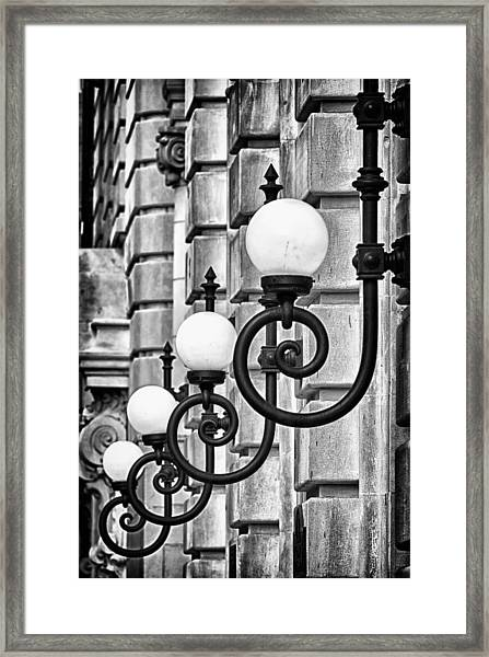 Ansonia Building Detail 20 Framed Print