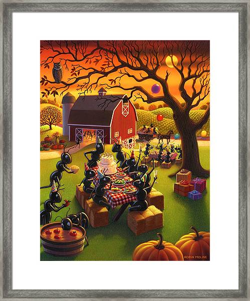 Ant Party Framed Print