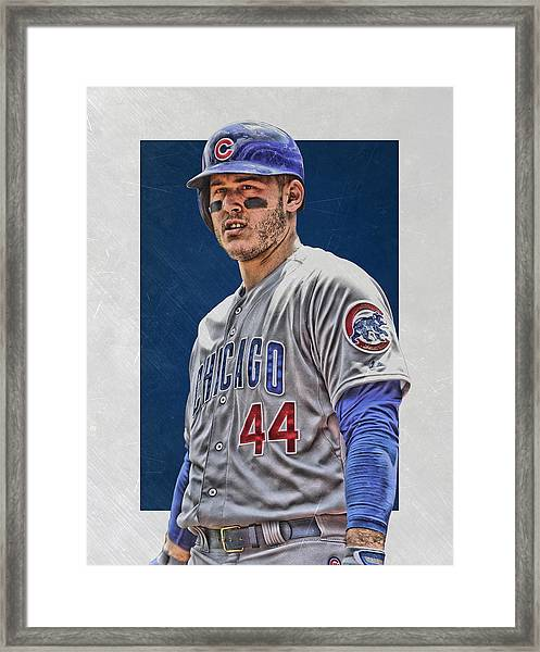 Anthony Rizzo Chicago Cubs 3 Framed Print