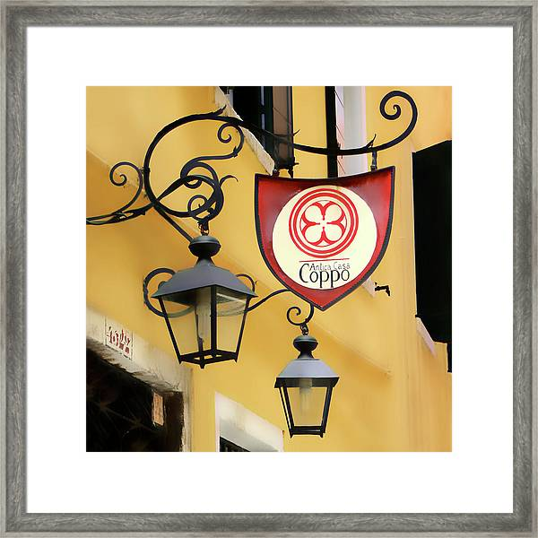 Antica Casa Coppo Framed Print