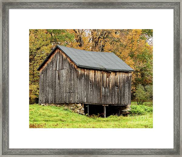 Antique Barn Framed Print