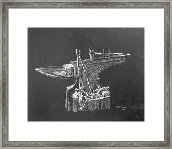 Anvil Framed Print