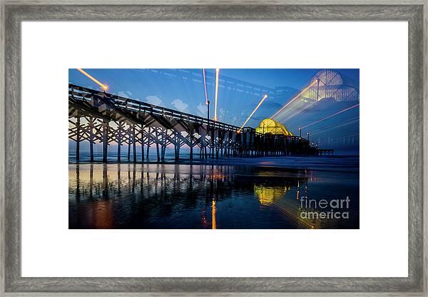 Apache Pier Framed Print