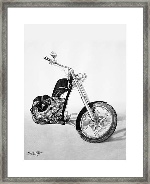 Apollo Chopper Framed Print