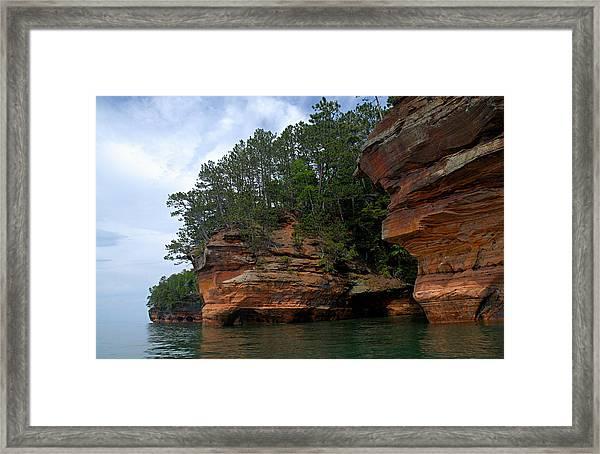 Apostle Islands National Lakeshore Framed Print