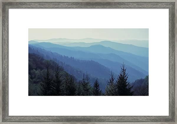 Appalachian Blue Framed Print