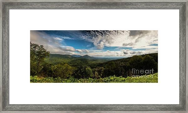 Appalachian Foothills Framed Print