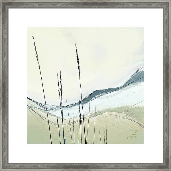 Framed Print featuring the digital art Appalachian Spring by Gina Harrison