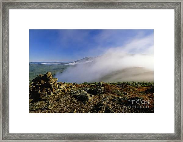 Appalachian Trail - White Mountains New Hampshire Usa Framed Print