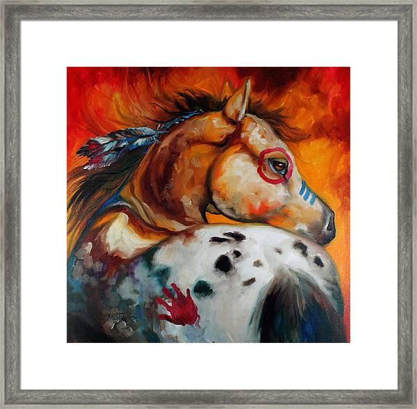 Appaloosa Indian War Pony Framed Print