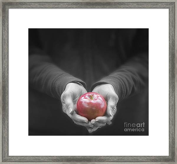 Apple For You Framed Print