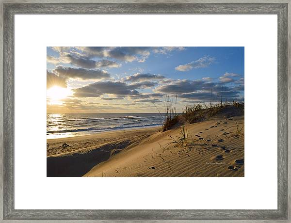 April Sunrise 2016 Framed Print