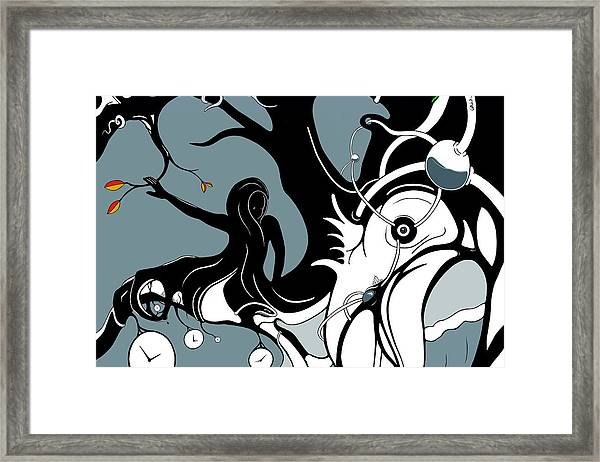 Aqualimb Framed Print