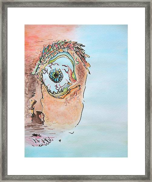 Aquarium Framed Print
