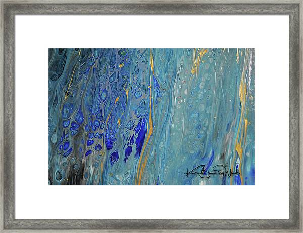 Aquatic 4 Framed Print