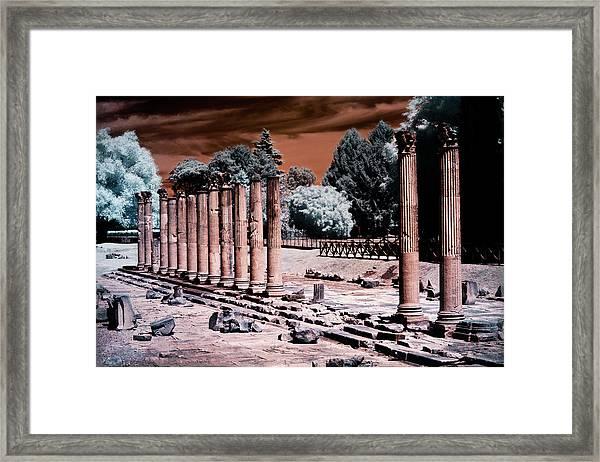 Aquileia, Roman Forum Framed Print