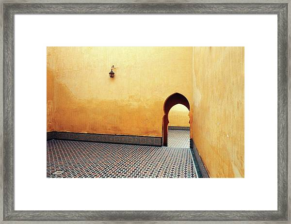 Framed Print featuring the photograph Arabesque by Darrell Chaddock