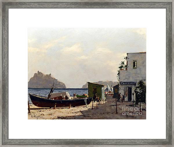 Aragonese's Castle - Island Of Ischia Framed Print