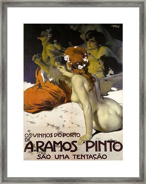 A.ramos Pinto Framed Print