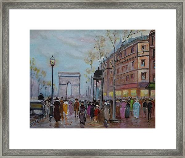 Arc De Triompfe - Lmj Framed Print