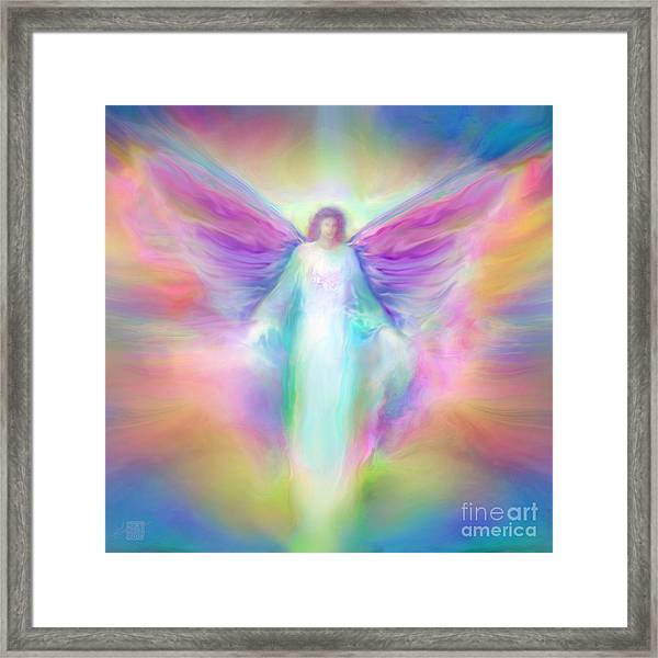 Archangel Raphael Healing Framed Print