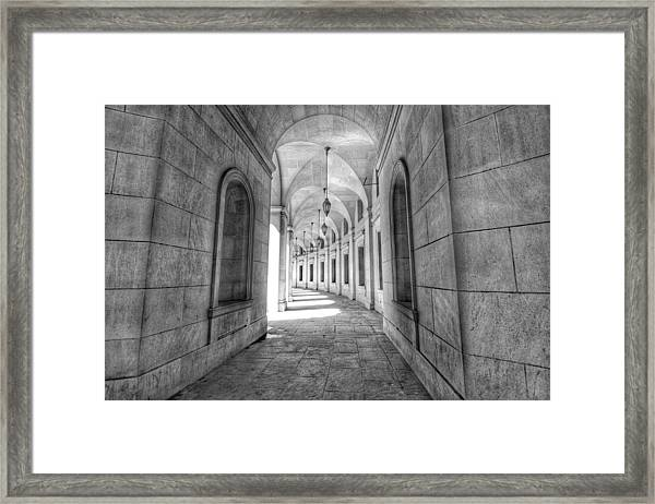 Arched Framed Print