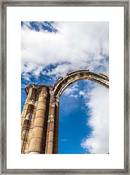Arching Skyward Framed Print by W Chris Fooshee