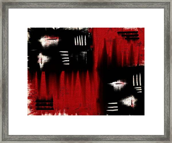 Architectonic Dimension Framed Print