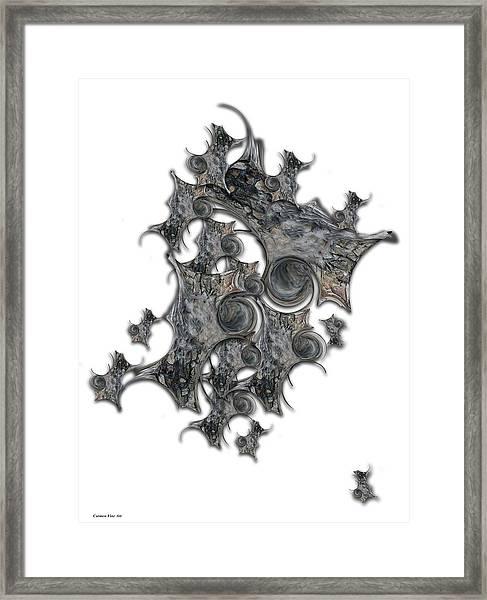 Architectonic Self Framed Print