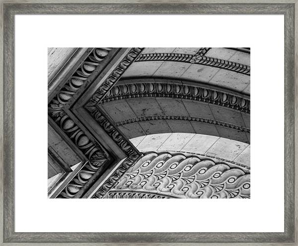 Architectural Details Of The Arc Framed Print