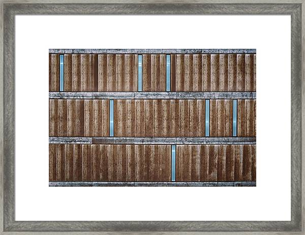 Architectural Dna Framed Print