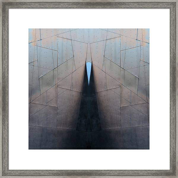 Architectural Reflections 4619j Framed Print