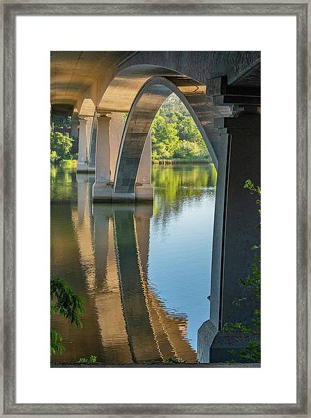 Archway Reflection Framed Print