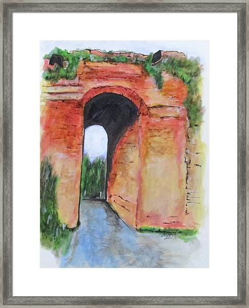 Arco Felice, Revisited Framed Print