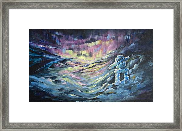 Arctic Experience Framed Print