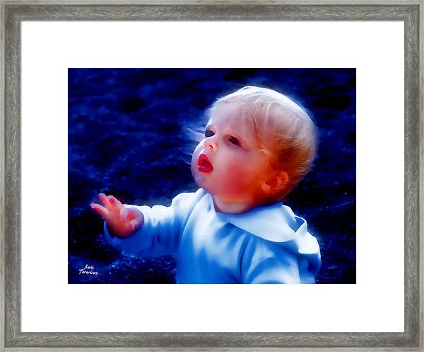 Are You Ok Framed Print