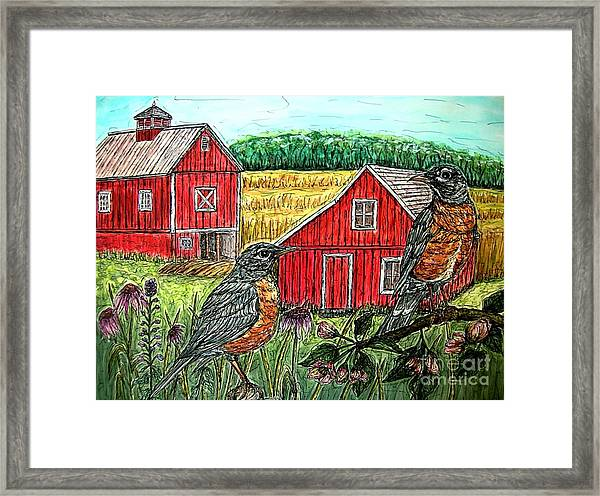 Are You Sure This Is The Way To St.paul? Framed Print