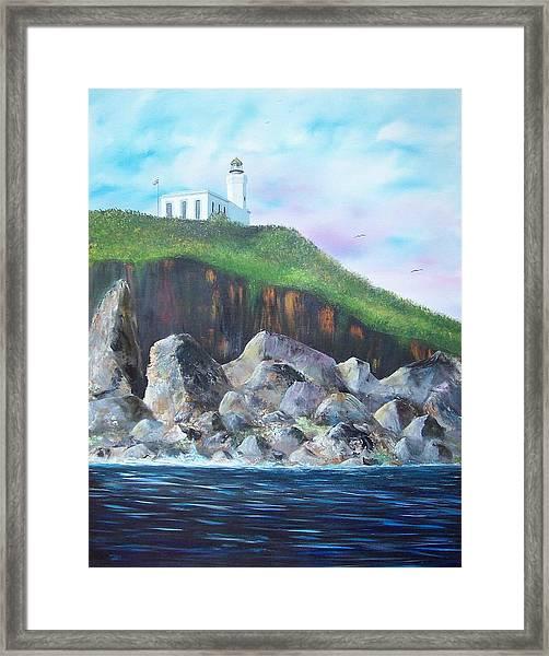Arecibo Lighthouse Framed Print