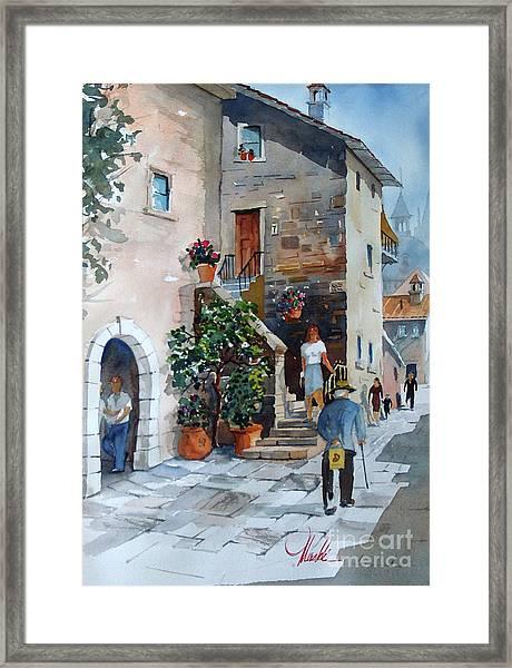 Arezzo-3 Framed Print