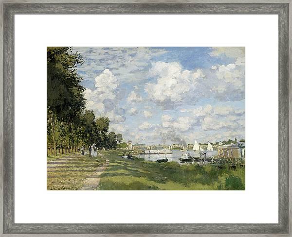 Argenteuil Basin Framed Print