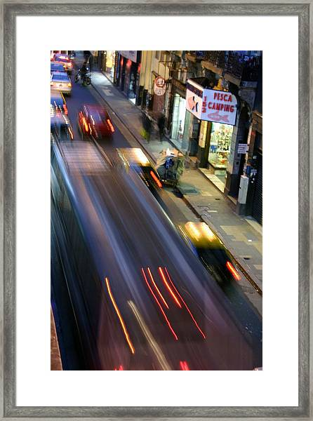Argie Street Framed Print