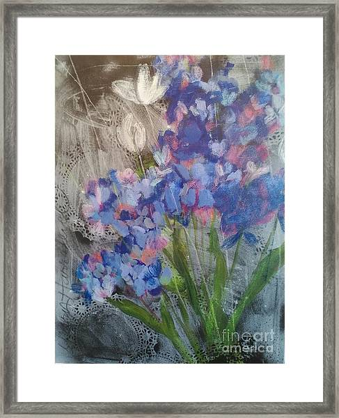 Arizona Blues Framed Print