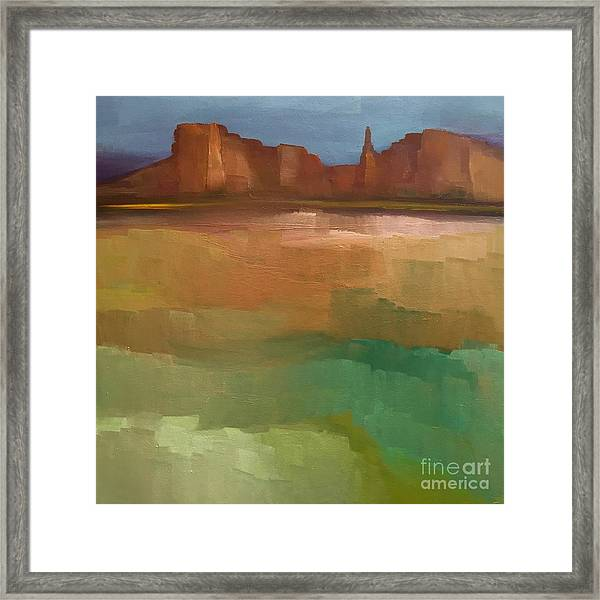 Arizona Calm Framed Print
