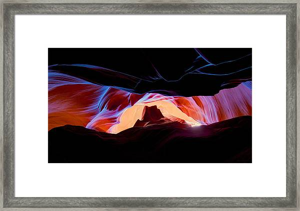 Arizona Underground Framed Print