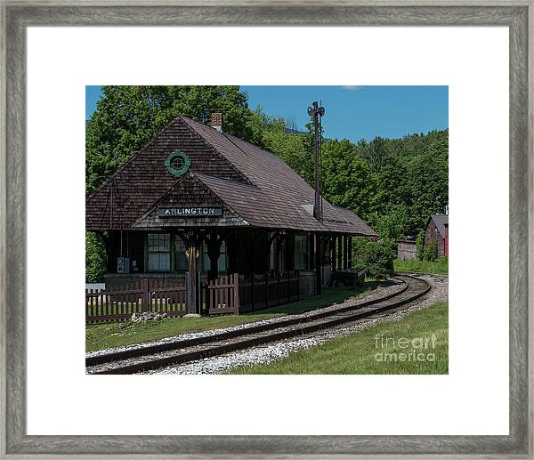 Arlington Station Framed Print