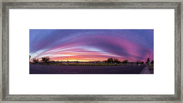 Armijo Sunset Framed Print