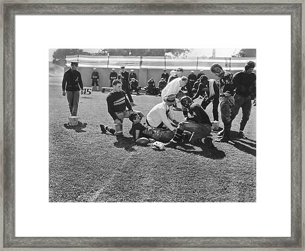 Army-navy Football Movie Framed Print