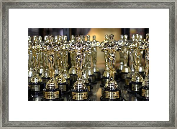 Army Of Gold Framed Print