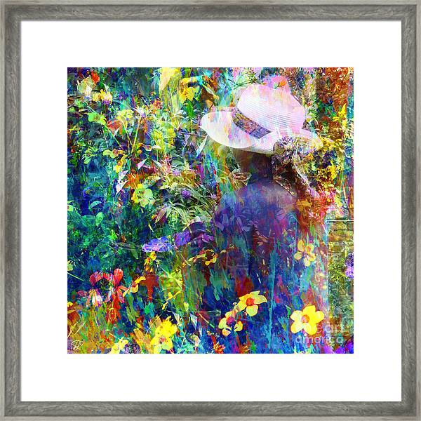 Aromatherapy Framed Print